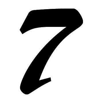 Numéro Course 7