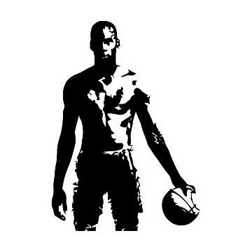 Silhouette Michael Jordan