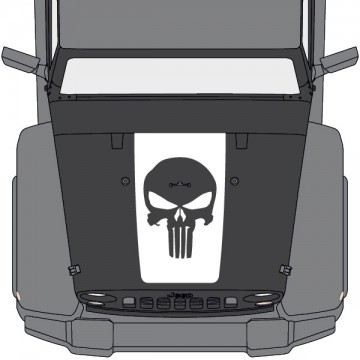 Jeep Wrangler Hood Punisher...