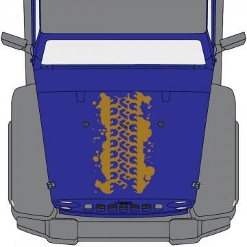 Capot Jeep Trace Pneu Boue