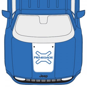 Jeep Renegade Hood Logo