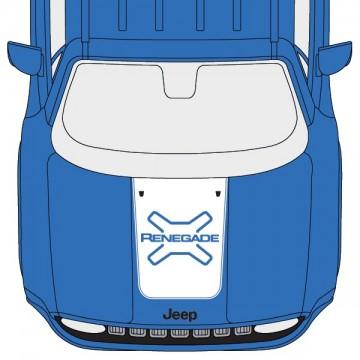 Capot Jeep Logo Renegade