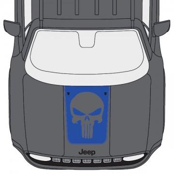 Jeep Renegade Hood Punisher