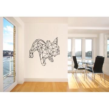French Bulldog Origami