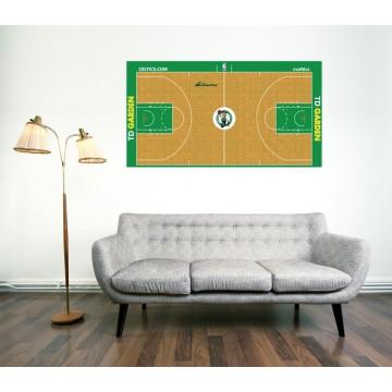 Boston Celtics Official Court
