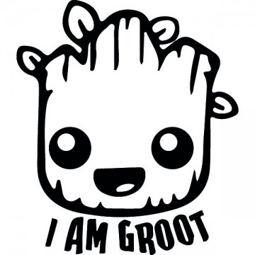 I Am Groot Guardians of the...