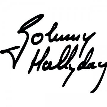 Johnny Hallyday Signature