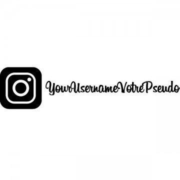 Instagram + Username