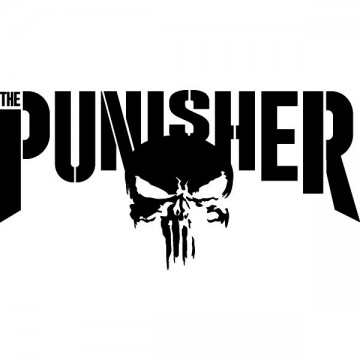 Marvel The Punisher Tv Show Logo Decals Passion Stickers