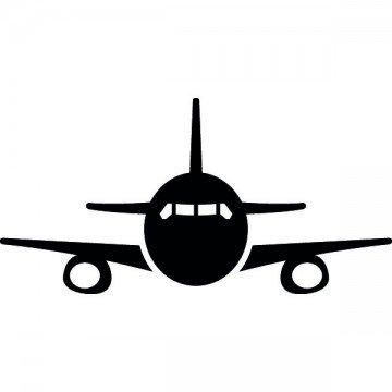 Slhouette Avion