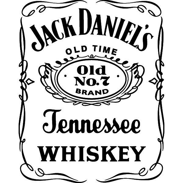Passion Stickers - Drink Decals - Jack Daniel's Whiskey ...