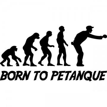 Evolution of Man Petanque