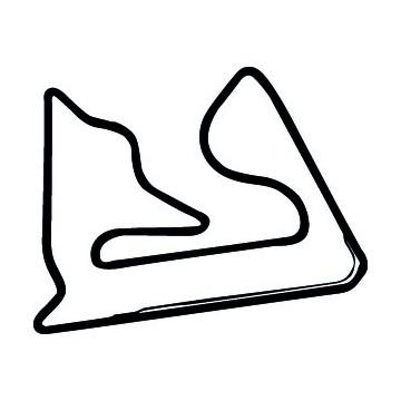 Tracé Circuit F1 Bahrein