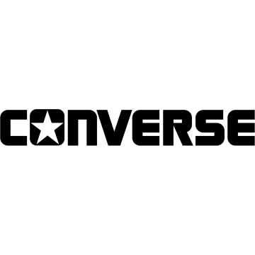 Logo de la célèbre marque Converse