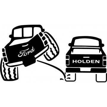 4x4 Ford Pipi sur Holden