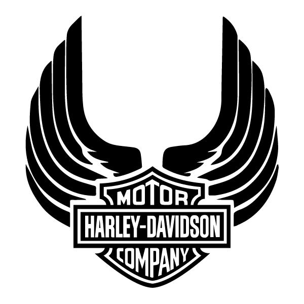 Harley Davidson Skull (20cm minimum)