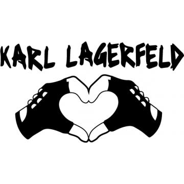 Playboy pleure Karl Lagerfeld (15 cm minimum)
