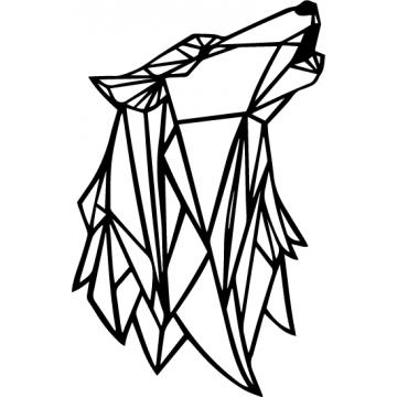 Loup origami
