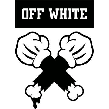 Off White x Mickey (15 cm...