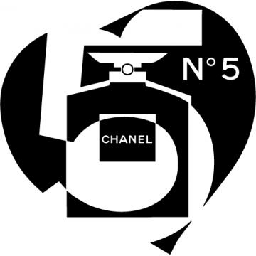 Chanel numero 5 coeur