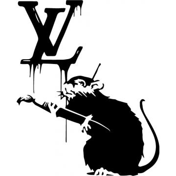 Louis Vuitton x rat (20 cm...
