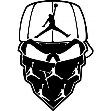 Air Jordan skull