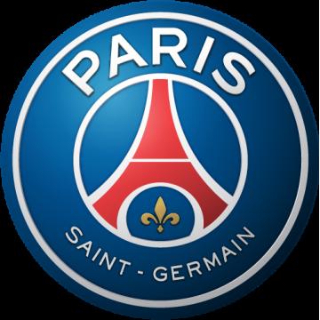 Paris Saint Germain couleurs