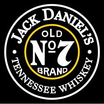 Jack Daniels number 7 colors