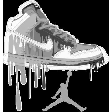 The Air Jordan (20 cm minimum)