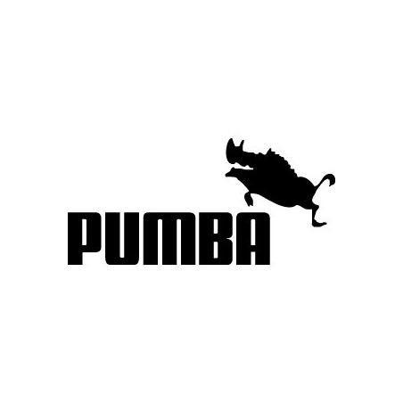 Pumba [parodie Puma]