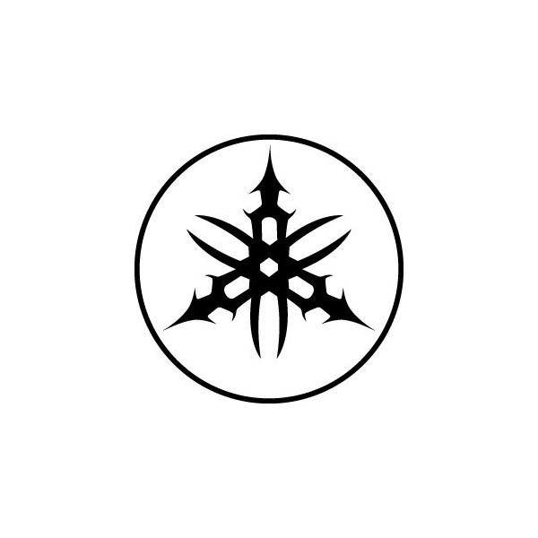 Yamaha Logo Tribal - Passion Stickers.com